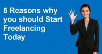 Start Freelancing Today